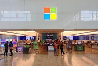 Microsoft zavírá všechny kamenné prodejny Microsoft Store