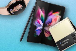 Samsung představuje nové telefony Z Fold 3 a Z Flip 3 včetně nových sluchátek a hodinek