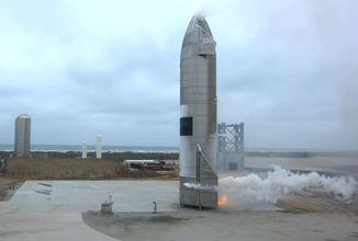 Starship hlásí první úspěšné přistání