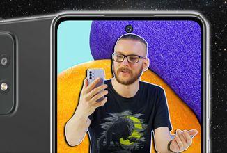 Samsung útočí na střední třídu plnou palbou - Galaxy A52 a A52 5G