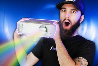 Projektor s 240 Hz, 4K a HDR?! - ViewSonic PX701-4K to dokáže