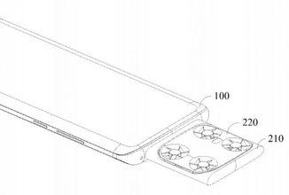 Vivo si patentovalo telefon s kamerou na dronu