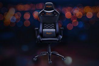 Židle jako z luxusního auta: Canyon Nightfall