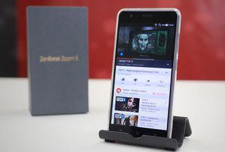 Telefon s obří výdrží baterie, sledujte náš test ASUS Zenfone Zoom S