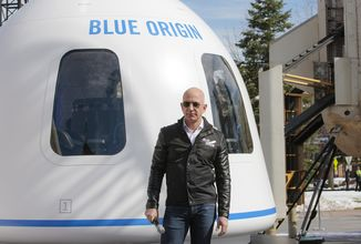 Jeff Bezos podle FAA není astronaut