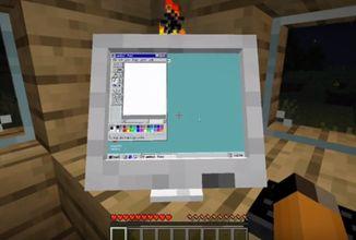 Tenhle mod do Minecraftu vás nechá postavit vlastní počítač