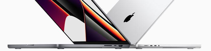 Apple představil MacBooky s výřezem v displeji a AirPods 3