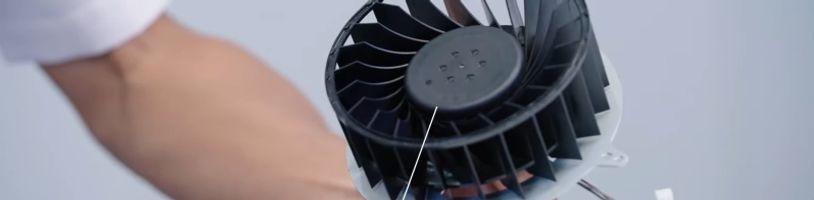 Sony má u PS5 používat více typů ventilátorů