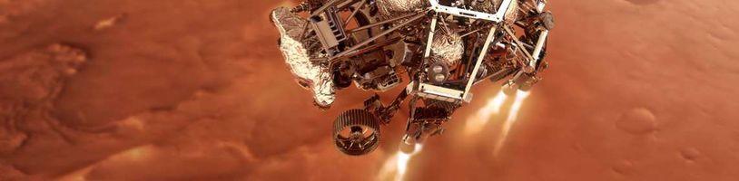 Čínský rover úspěšně přistál na Rudé planetě