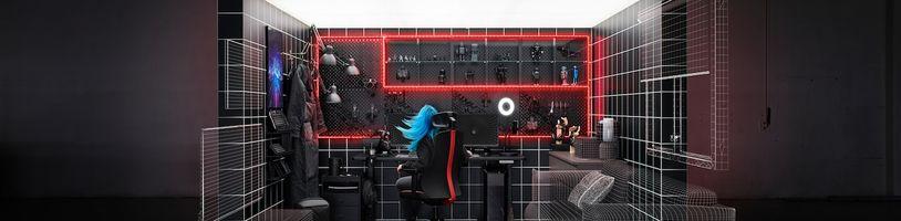 Ikea ve spolupráci s Asus ROG představila nábytek pro hráče