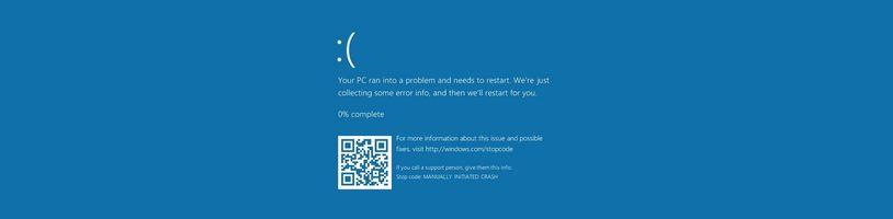 Windows 11 změní barvu modré obrazovky smrti