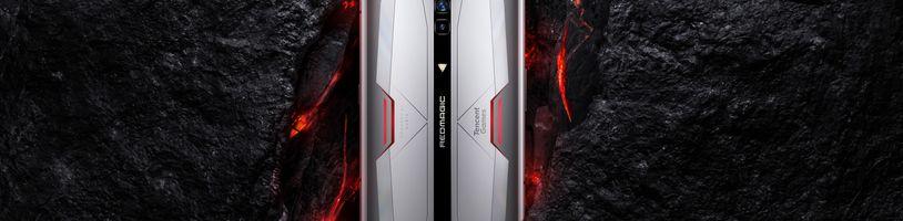 Red Magic 6 je herní mobil s 12 GB RAM a 165Hz displejem