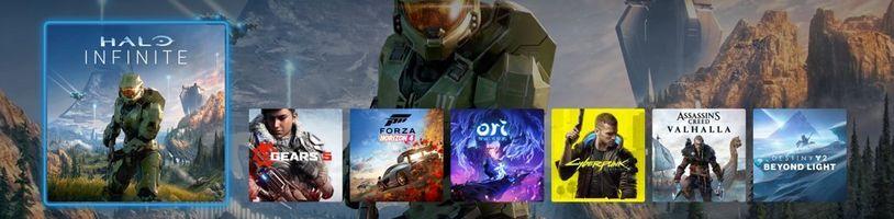 Dashboard Xboxu Series X bude podporovat vyšší rozlišení