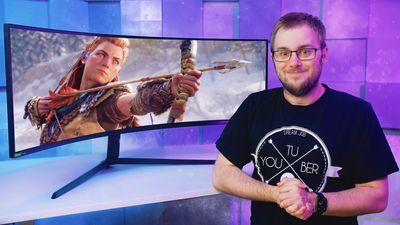 Nejlepší zakřivený herní monitor na světě: Samsung Odyssey G9
