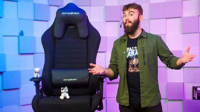 DXRacer Iron IS132/N je herní židle nejen pro hráče