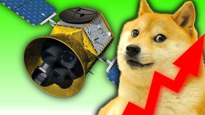 První vesmírná sonda financovaná Dogecoinem!