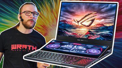 Nejsilnější laptop se dvěma displeji - Asus ROG Zephyrus Duo 15