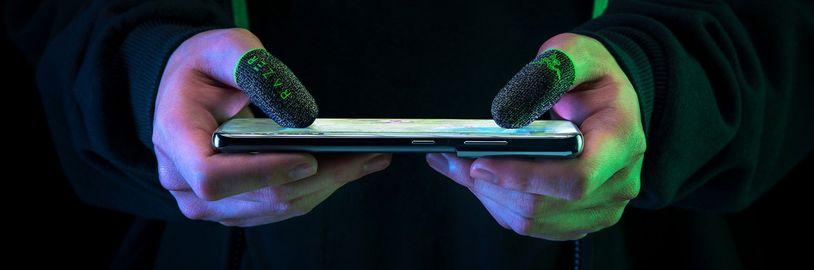 Razer představil speciální náprstky pro mobilní hráče
