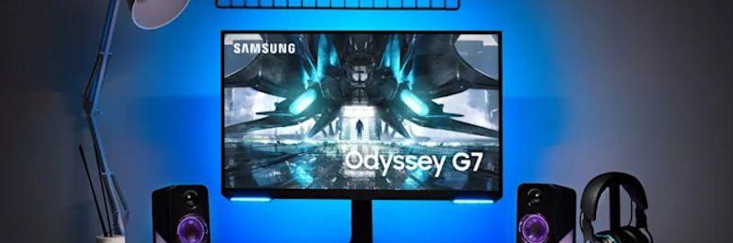 Samsung u svých nových monitorů vynechá zahnutý displej