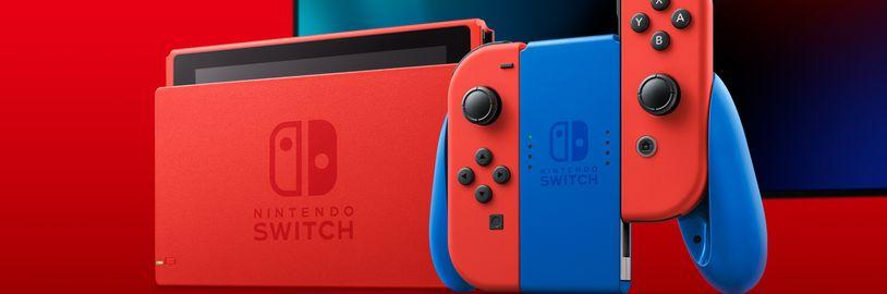 Nintendo značně navyšuje produkci konzole Nintendo Switch